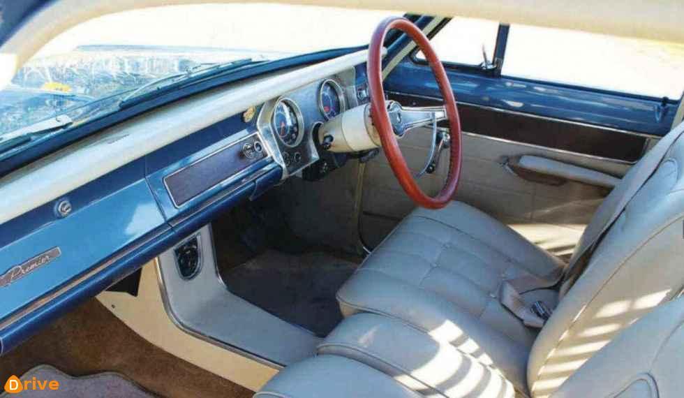 1966 Holden Premier interior