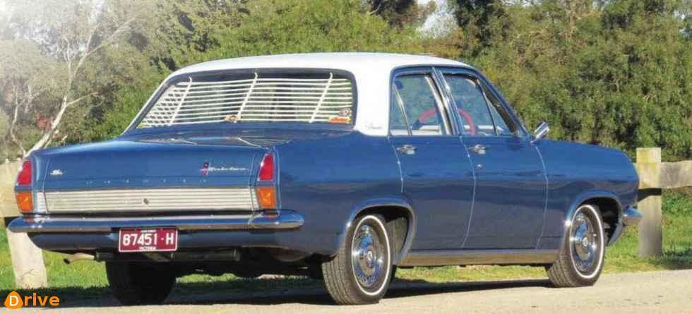 1966 Holden Premier rear bumper