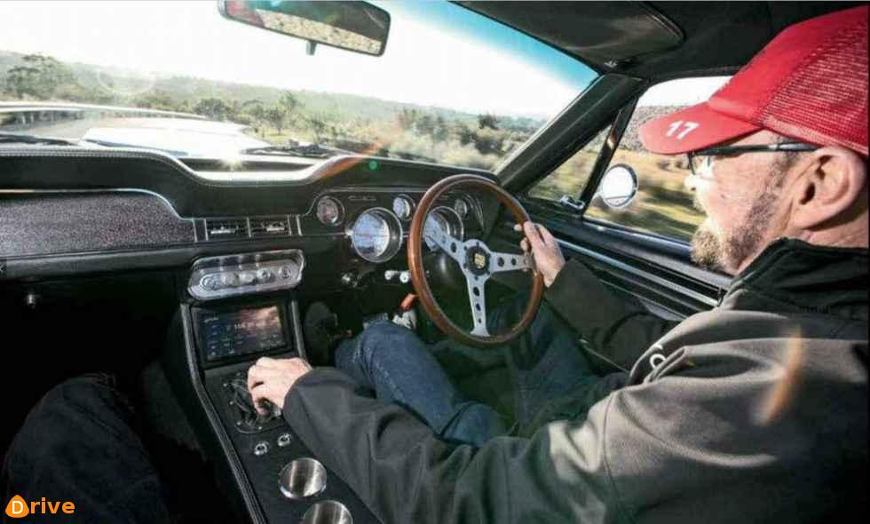 1968 Ford Mustang GT500 Eleanor interior