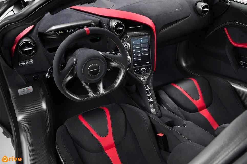 2017 McLaren 720S interior