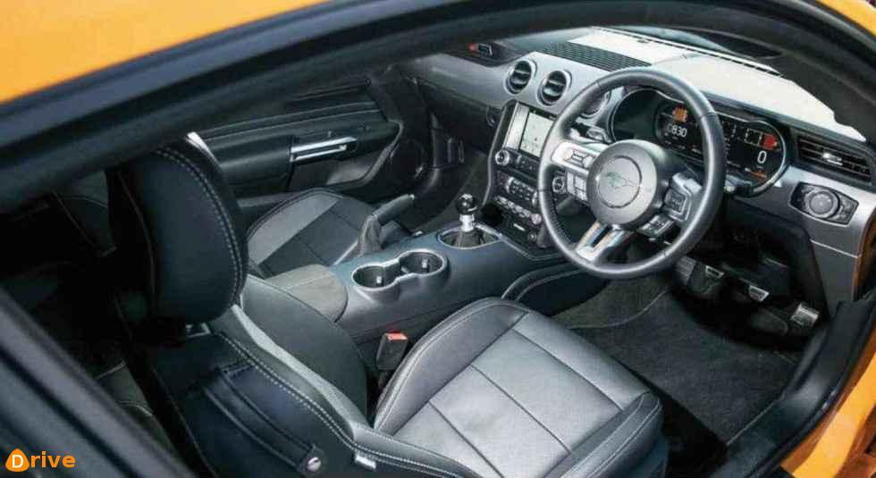2018 Roush Ford Mustang interior