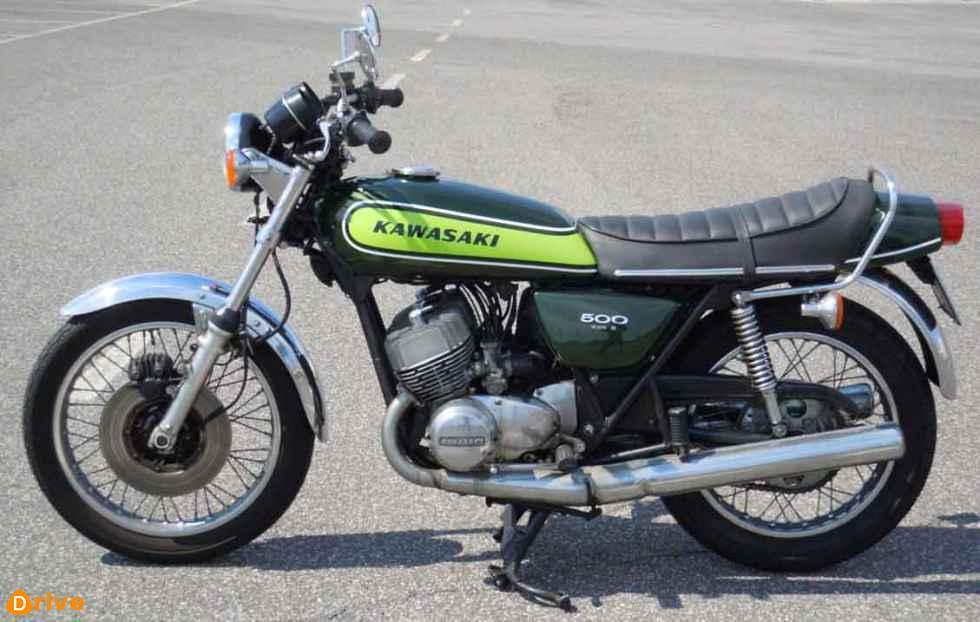 1973 Kawasaki H1D 666