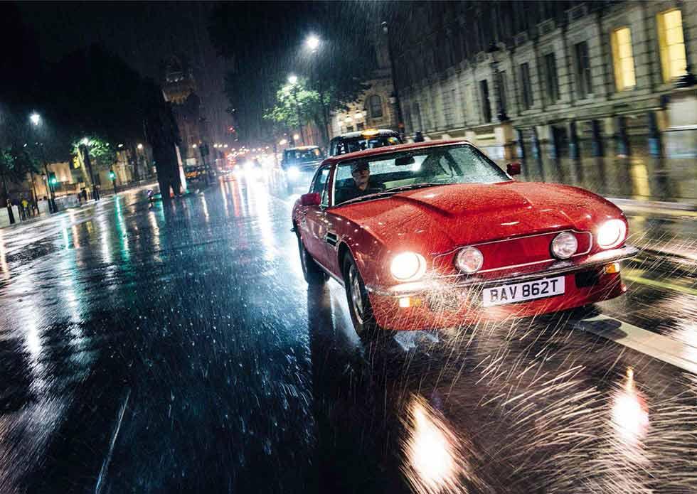 We Drive Johnny English S 1978 Aston Martin V8 Vantage Oscar India Drive