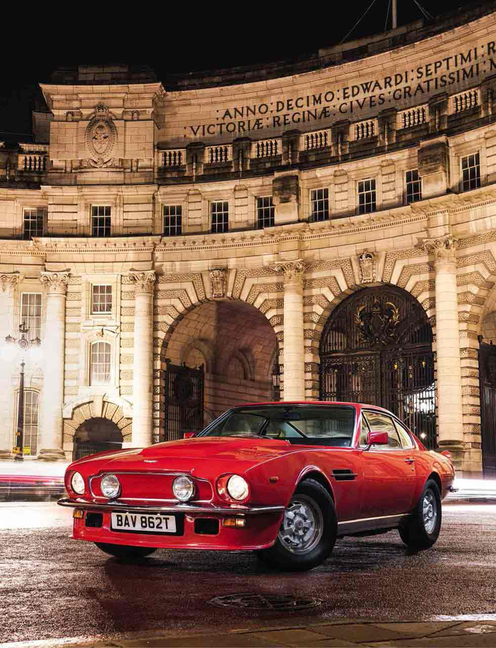We drive Johnny English's 1978 Aston Martin V8 Vantage 'Oscar India'