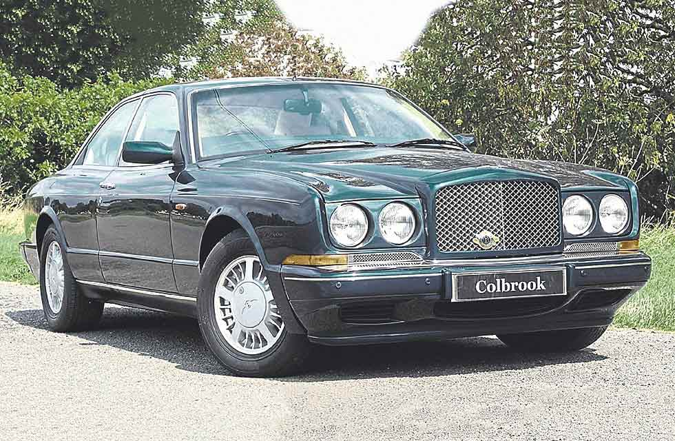 1993 Continental R road test