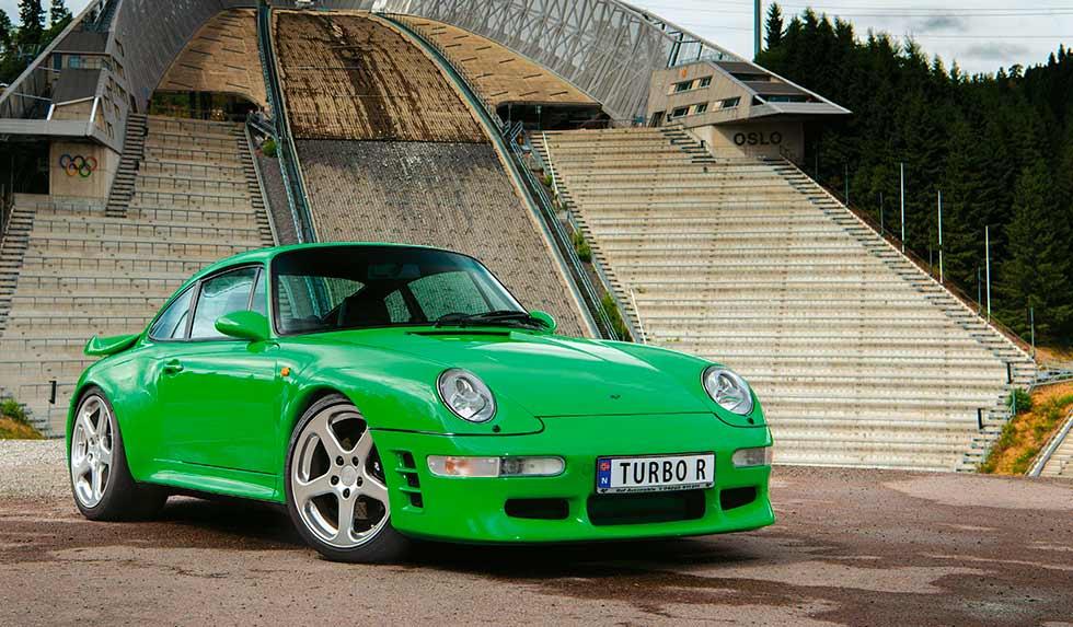 Ruf Automobile tuned 490hp 1998 Porsche 911 Turbo R 993 - road test