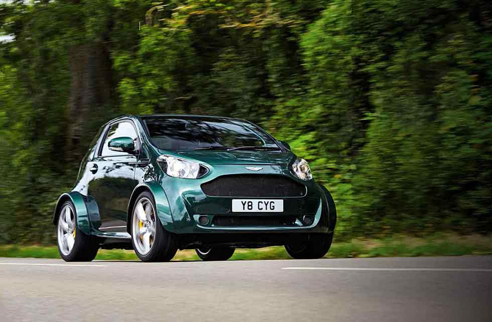 Special car from Aston Martin's Q division 430bhp V8-engined Cygnet