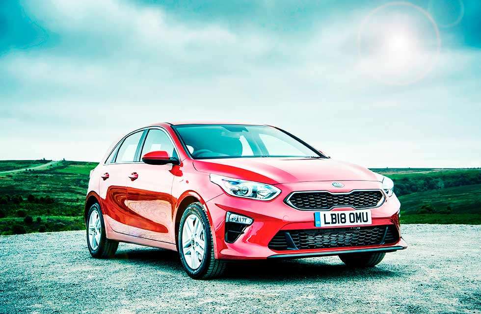 2018 Kia First UK-Test