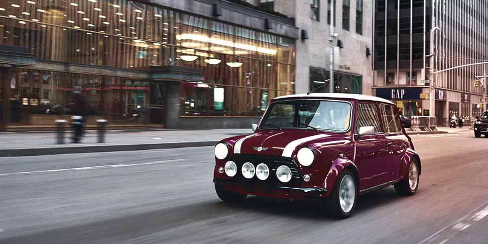 BMW unveils an all-electric version of the classic Mini