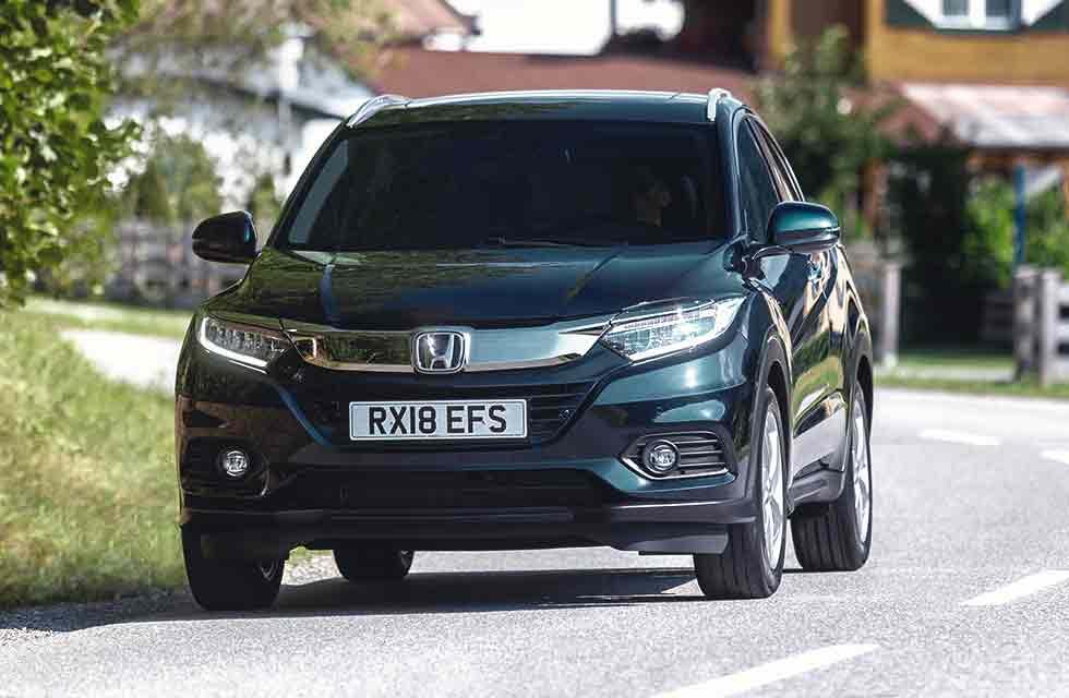 Honda facelifts 2019 HR-V