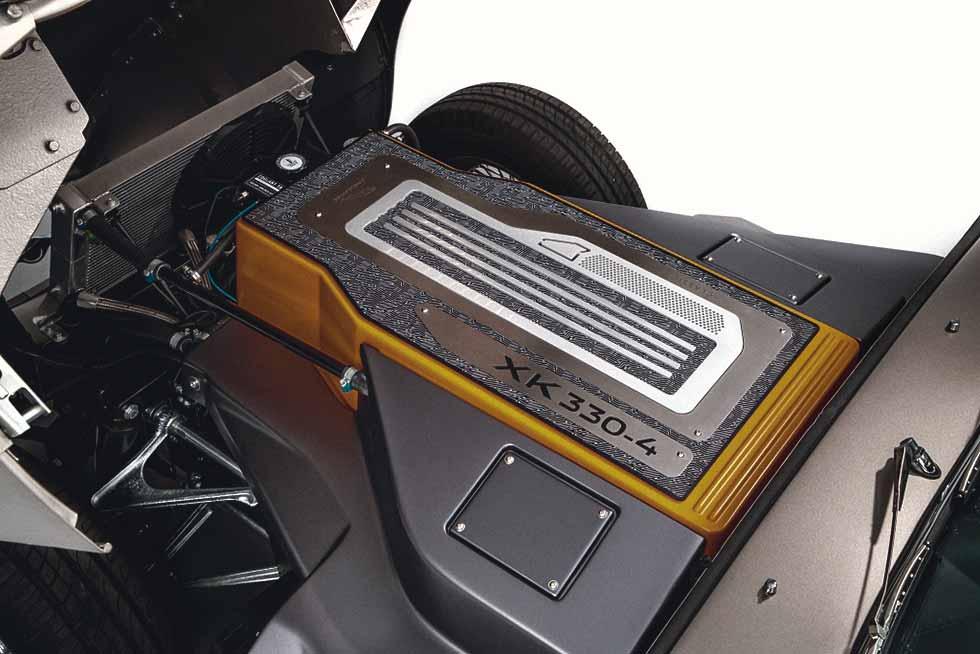 Jaguar E-type Zero electric engine