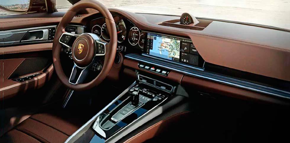 2020 Porsche 911 992 interior