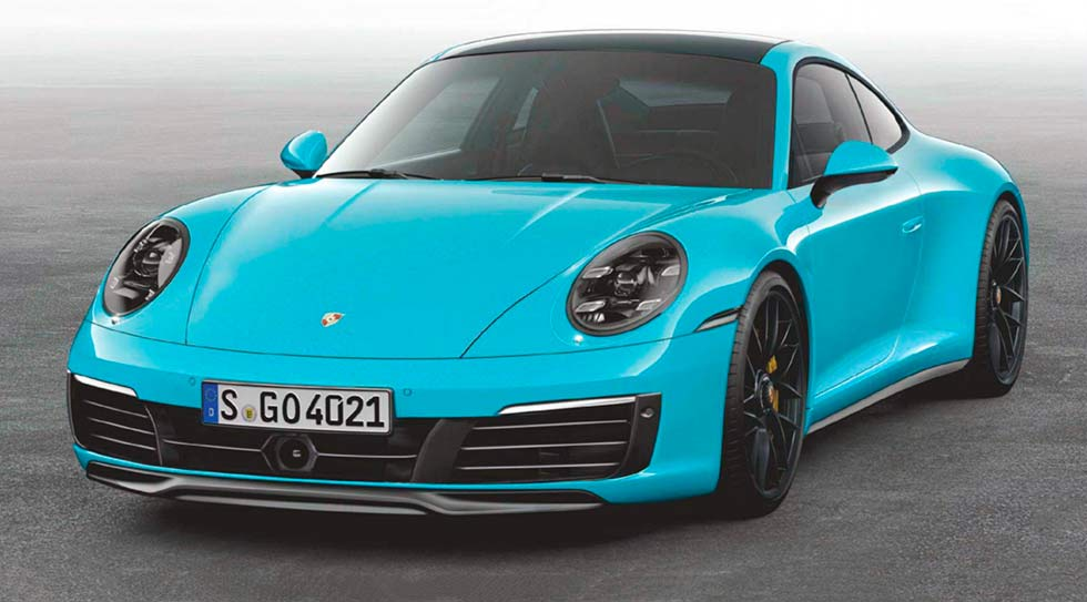 2020 Porsche 911 992 captured without camo