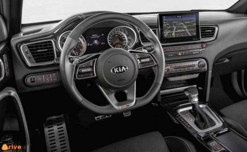2018 Kia Proceed interior