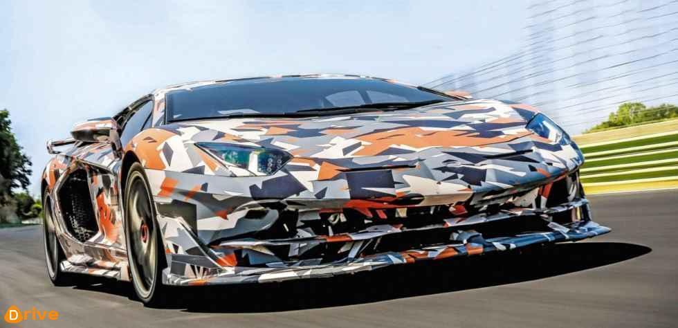 2018 Lamborghini Aventador SVJ