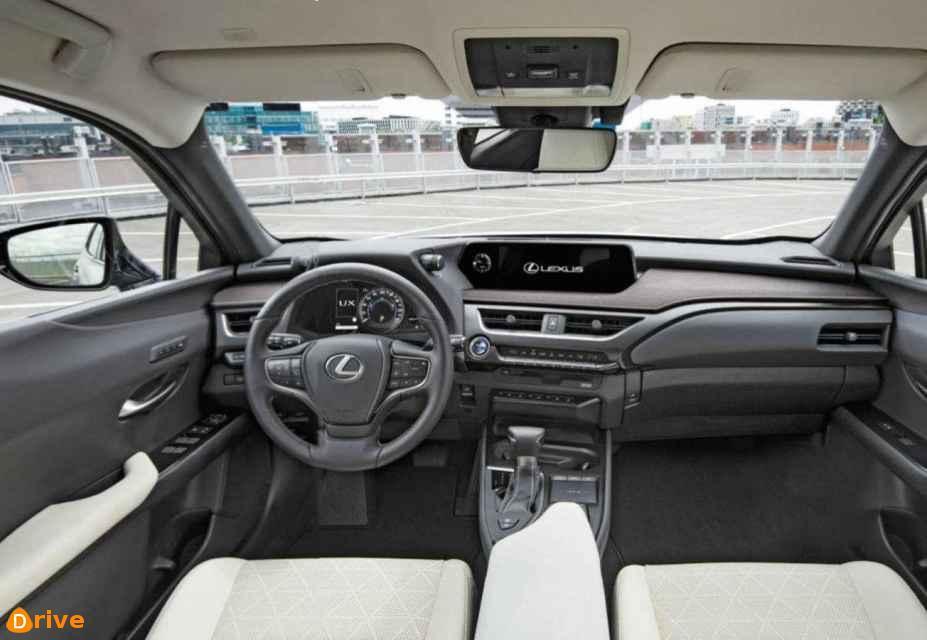 2018 Lexus UX 250H interior