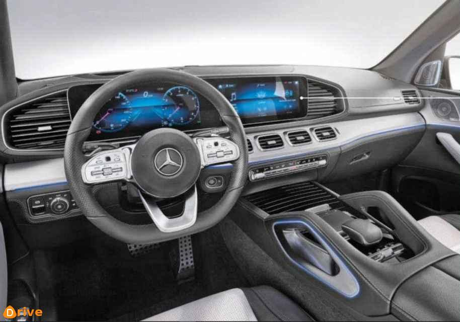 2019 Mercedes GLE interior