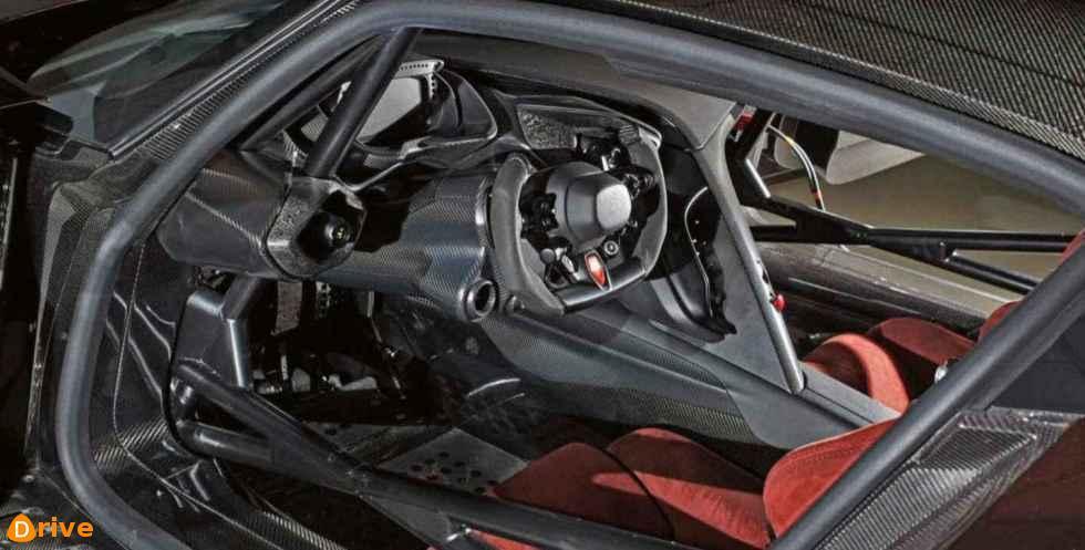 2018 Aston Martin Vulcan interior