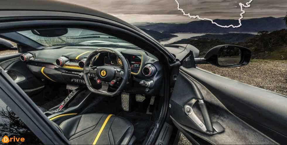 2018 Ferrari 812 Superfast interior