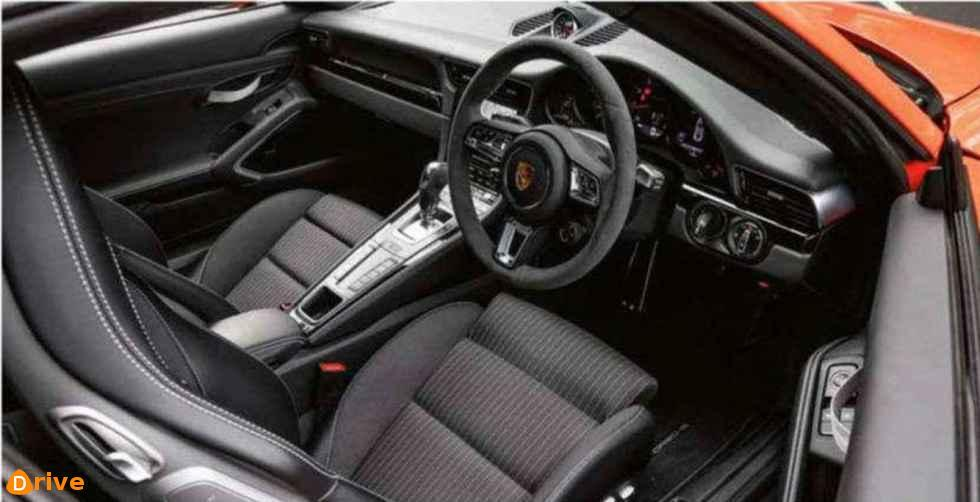 2018 Porsche Carrera T interior