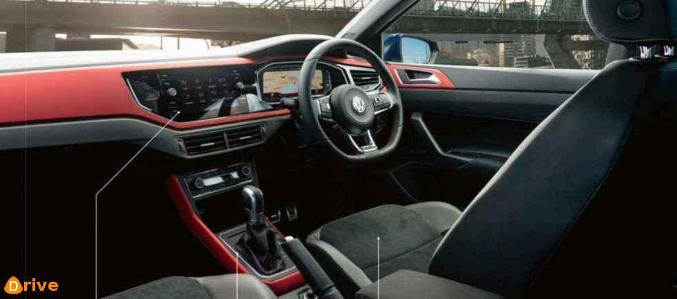 2018 VW Polo GTI interior
