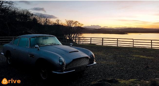 Lécosse en Aston Martin DB6