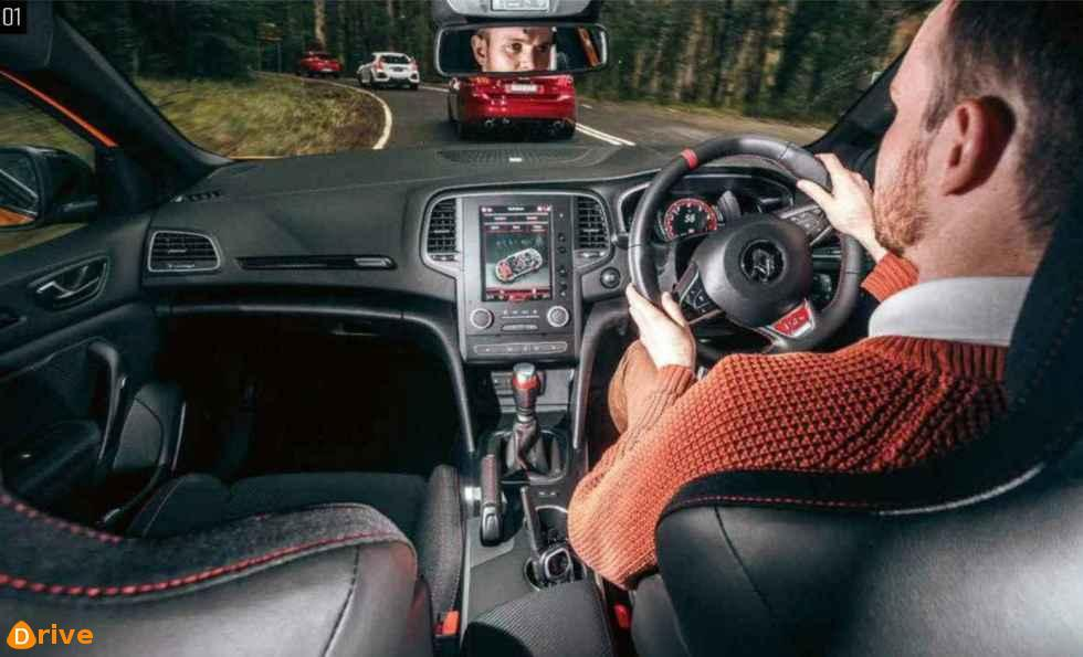 Megane RS 280 Cup interior