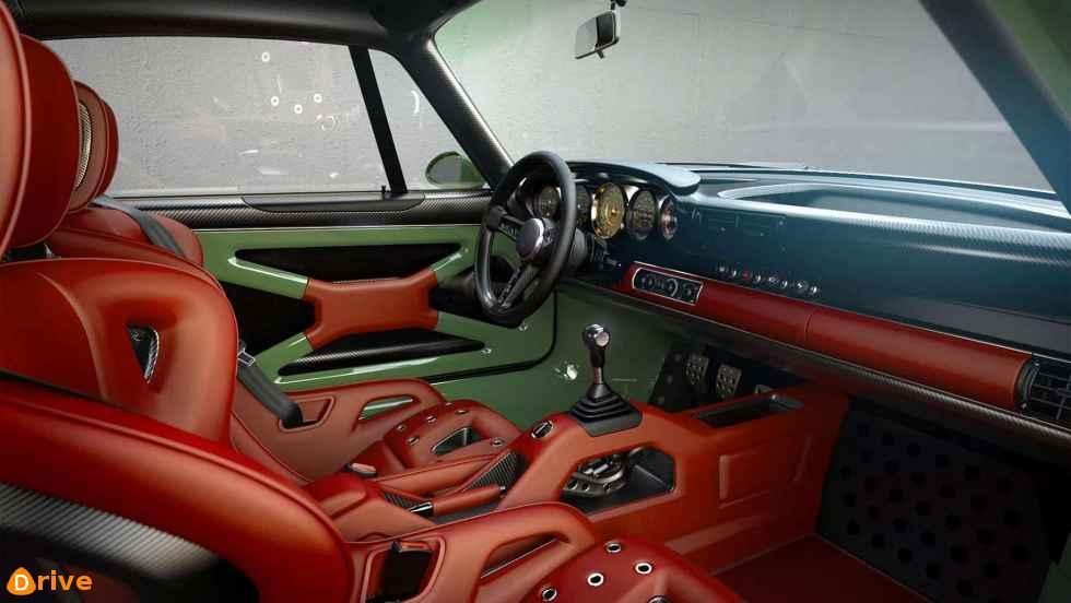 Singer DLS 964 911 interior
