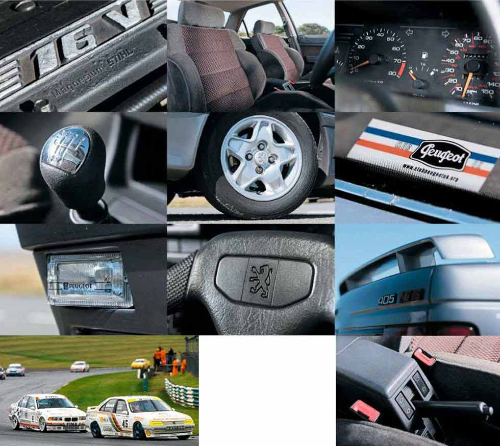 Peugeot 405Mi 16 - road test