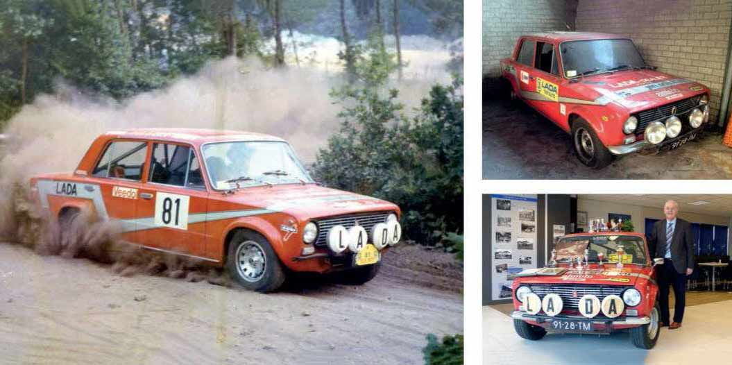 Restored Lada is reunited with rallying hero
