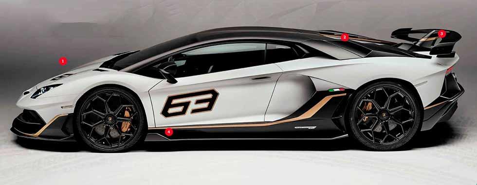 2019 Lamborghini Aventador SVJ 63