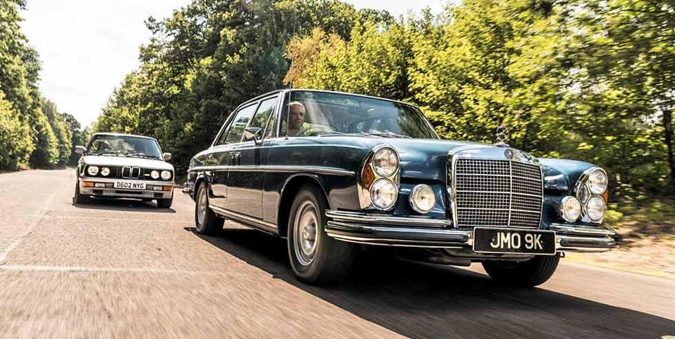 Mercedes-Benz 300SEL 6.3 W109 driven