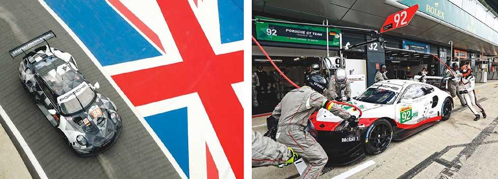 Podium for Porsche at Silverstone - Round three of the FIA World Sports Car Championship