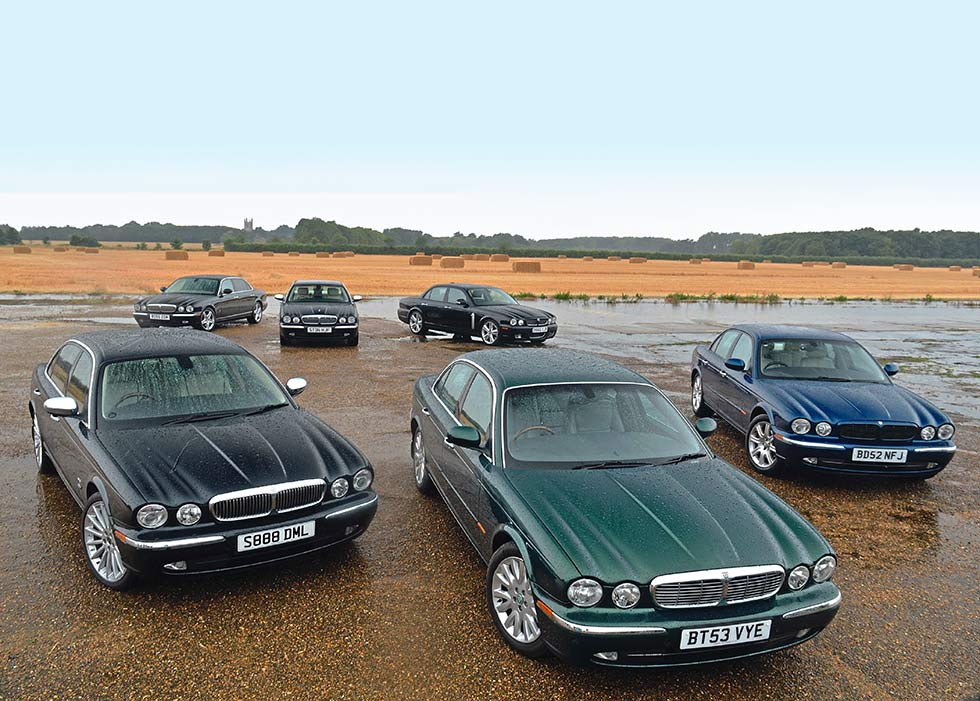 Group Test Jaguar XJ X350 - XJ6 3.0, XJ8 4.2, XJ 2.7 TDVi, XJR, Super V8 and Daimler Super Eight