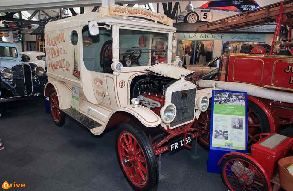 1920s Model T is the only car to have been an ever-present at the Lakeland Motor Museum.