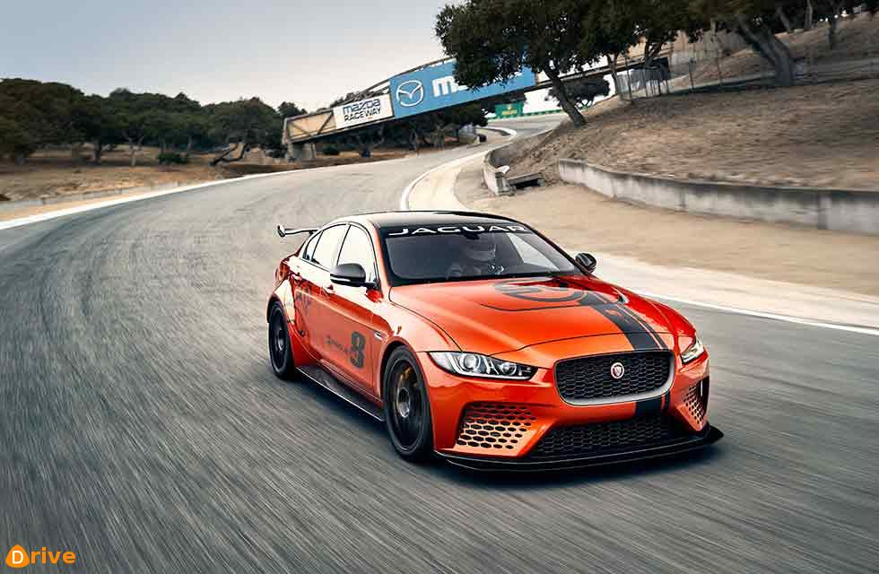 XE SV Project 8 has confirmed its status as the world's fastest four-door car