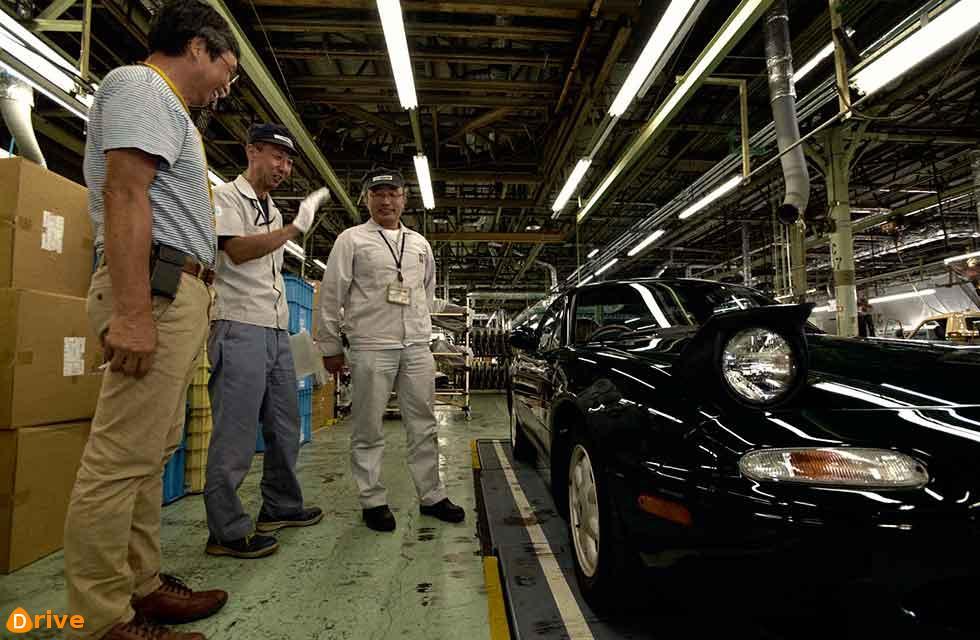 Mazda performs in-house MX-5 rebuild