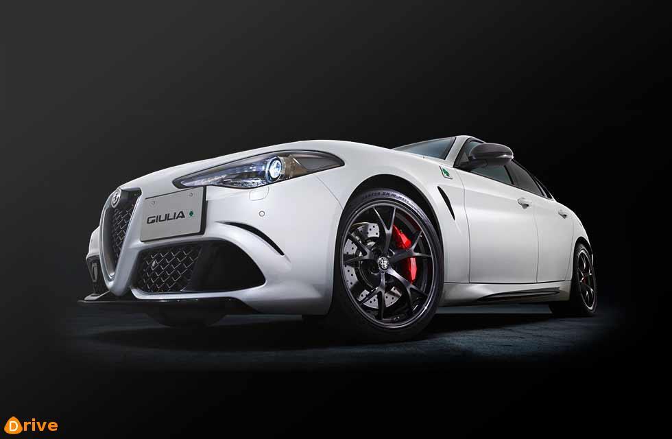 Alfa-Romeo Giulia on Reliability Podium