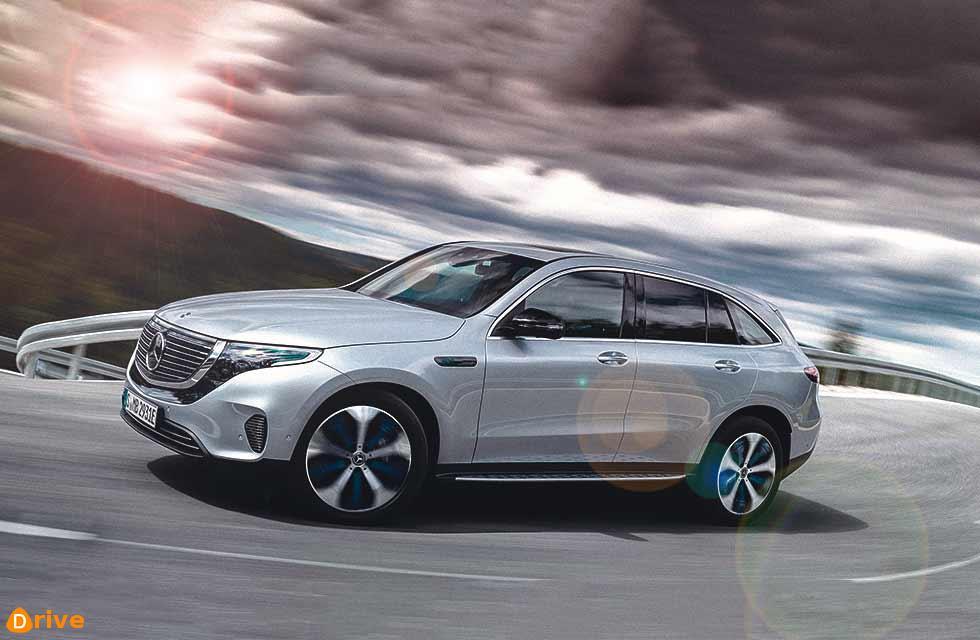 2019 Mercedes-Benz's all-electric SUV  EQC