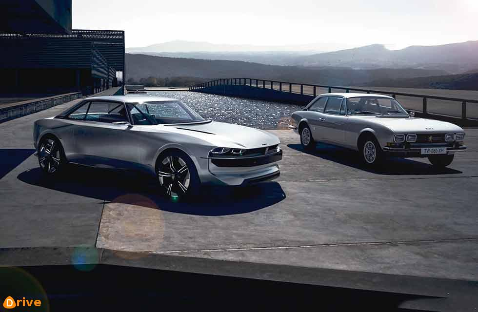 Peugeot goes back to the future for EV concept