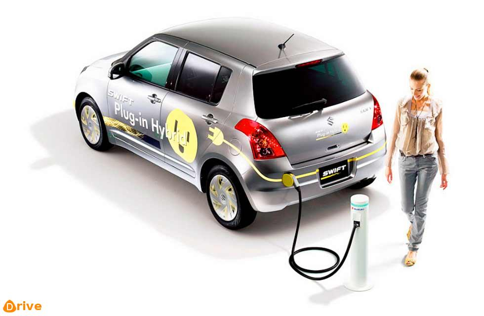 2019 Plug-in-hybrid car
