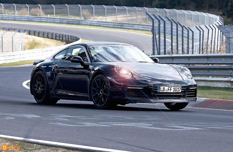 2019 Porsche 911 992 Nürburgring Nordschleife test drive