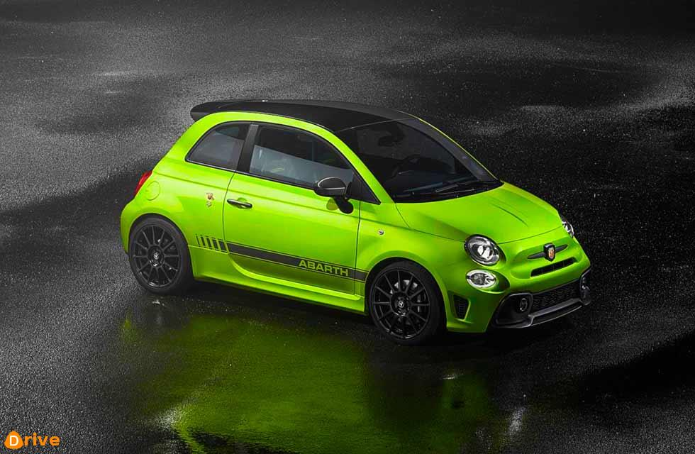 A revised Abarth 595 range features new colours and a sportier exhaust