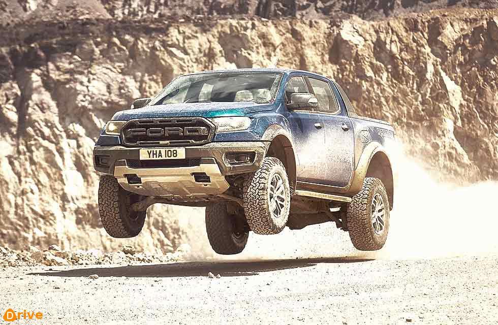 2019 Ford Ranger Raptor UK-spec