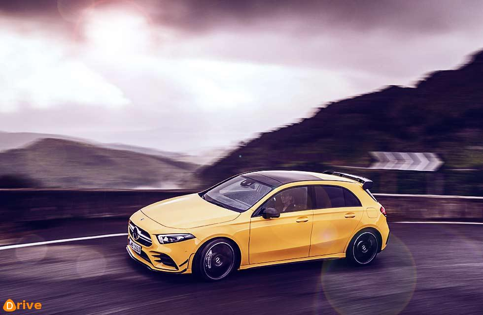 Mild AMG hatch takes aim at S3 - 302bhp four-wheel-drive A35 revealed