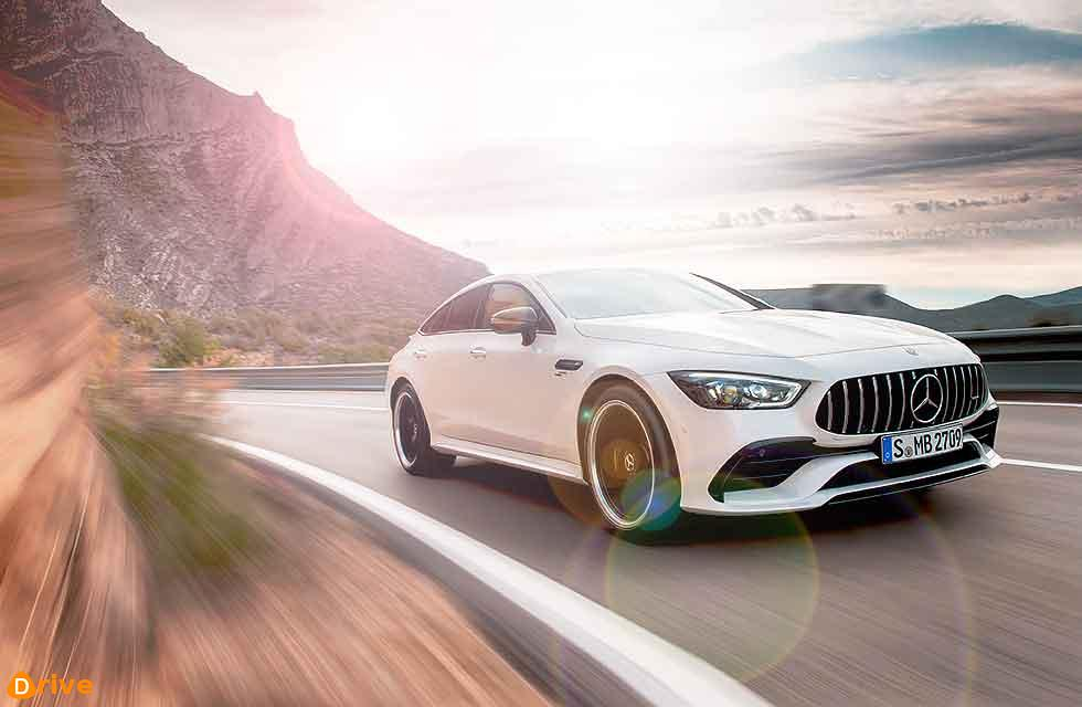 2019 Mercedes-AMG GT 4MATIC+ X290 four-door Coupé