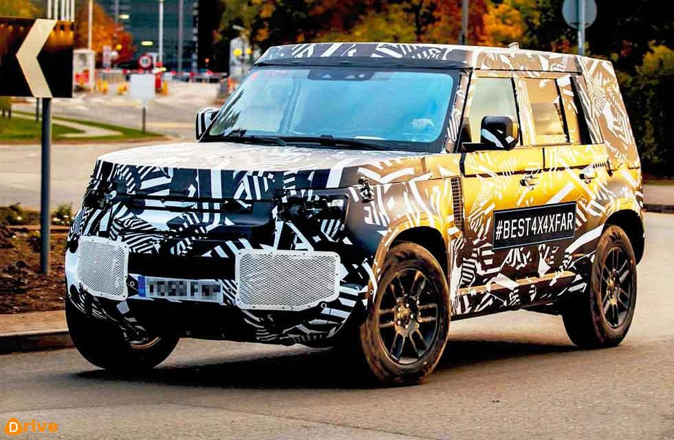 New 2020 Defender Spy shots