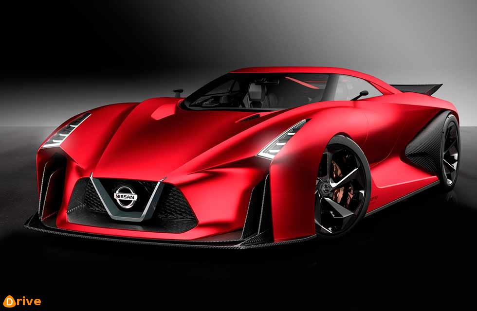 Red Nissan 2020 Vision Gran Turismo Revealed Before Tokyo Motor Show