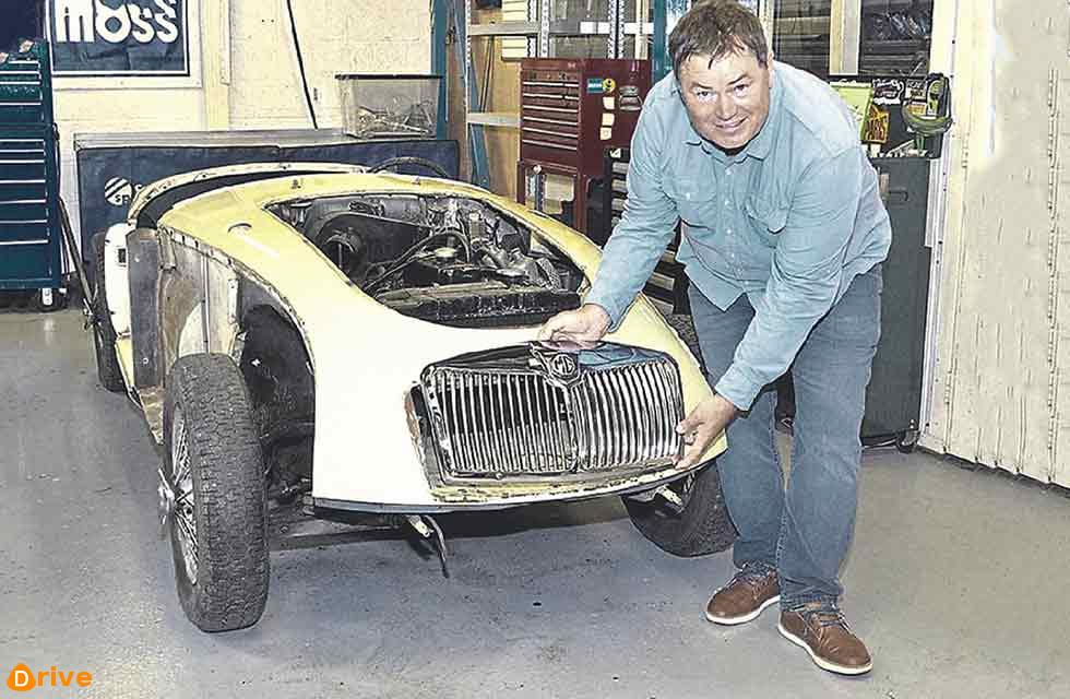 Wheeler Dealers star Mike Brewer is set to be reunited with his MGA project