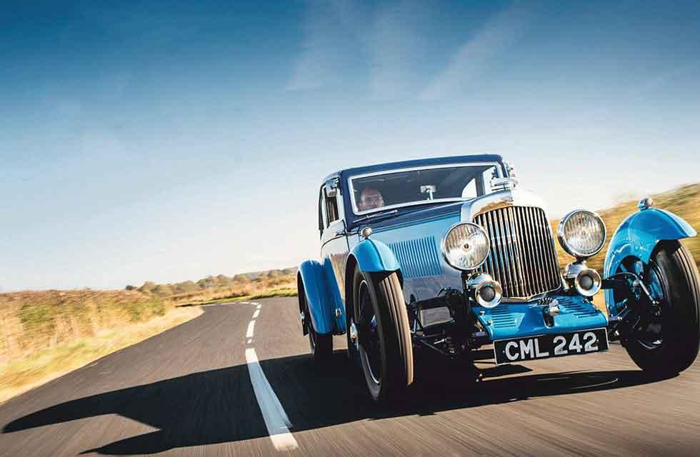 1934 Aston Martin MkII Special Sports Saloon - road test